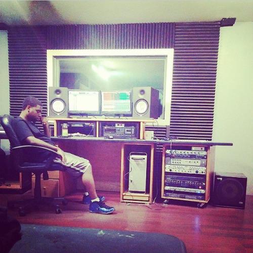 Ross in his Raleigh studio